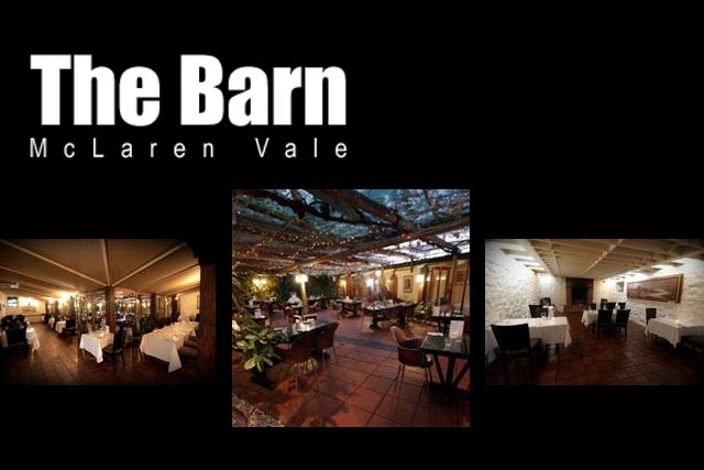 ipic360.com listing search / The Barn Bistro McLaren Vale